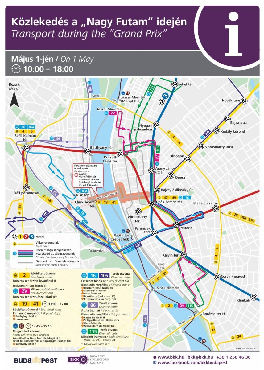 budapest 2 es villamos útvonala térkép V. kerület   Belváros Lipótváros | Május elsején ne autózz a  budapest 2 es villamos útvonala térkép