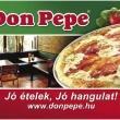 Don Pepe Étterem & Pizzéria - Kálmán Imre
