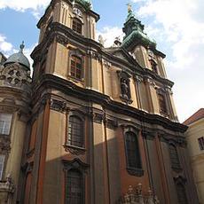 Belvárosi Egyetemi Kisboldogasszony-templom (Forrás: Wikipédia)