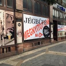 Jégbüfé - a Petőfi Sándor utcába költözött