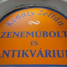 Kodály Zoltán Zeneműbolt
