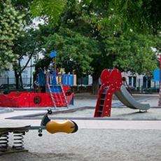Hild téri Játszótér (Forrás: faninfo.hu)
