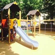Honvéd téri Játszótér (Forrás: Belváros-Lipótváros önkormányzat)