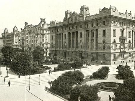A tér 1909-ben, képrészlet: egykor.hu