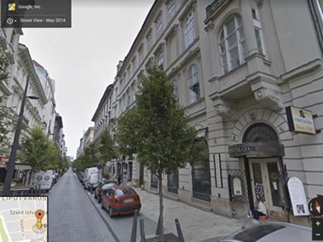Október 6. utca 5., kép Google maps