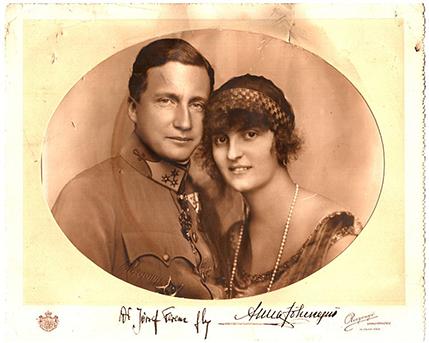 A főhercegi pár, forrás: wikimedia commons